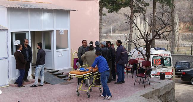 """Konya'da ayağını """"pat pat"""" motoruna kaptıran kişi öldü"""