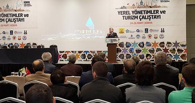 Konya'da yerel yönetimler ve turizm çalıştayı başladı