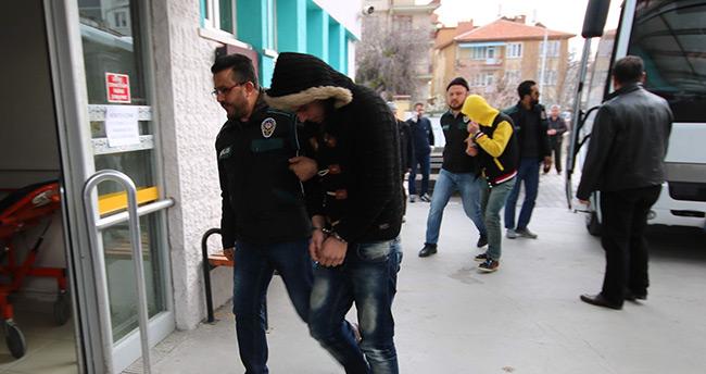 Konya'da zehir tacirlerine operasyon
