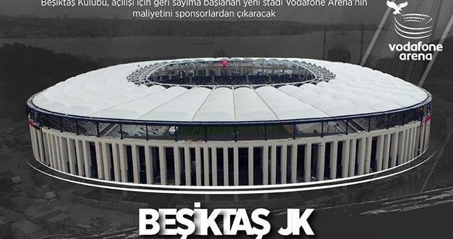 Vodafone Arena'nın maliyeti sponsorlardan çıkacak