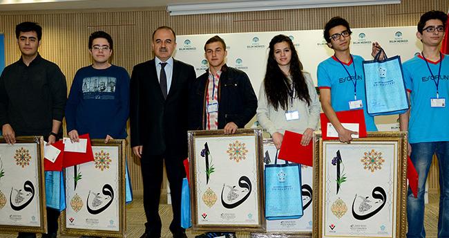 Konya Bilim Merkezi'nde Bilimsel Projeler yarıştı
