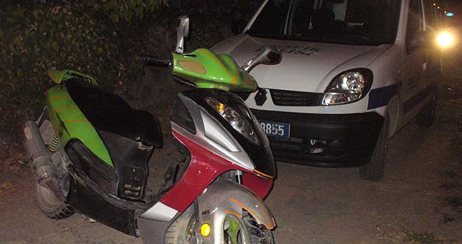 Konya'da motosiklet hırsızlığı