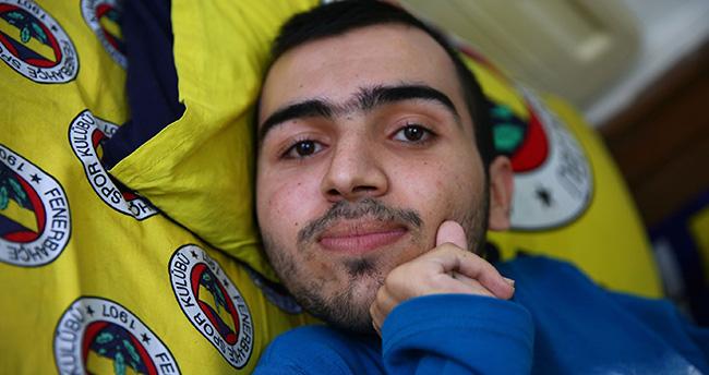 Konyalı ALS hastası Mehmet'in tek hayali Fenerbahçeyi canlı izlemek