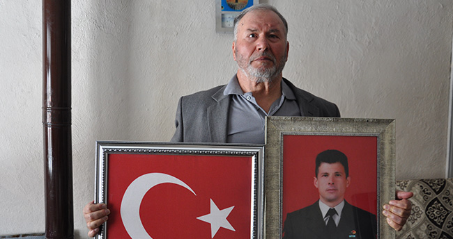 Konyalı şehidin babası: Oğlumla gurur duyuyorum