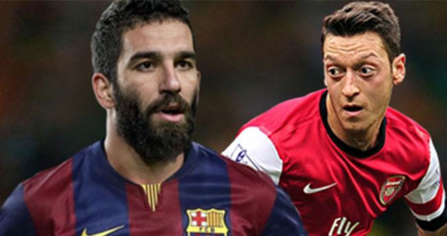 Yılın takası! Arda Turan, Mesut Özil…