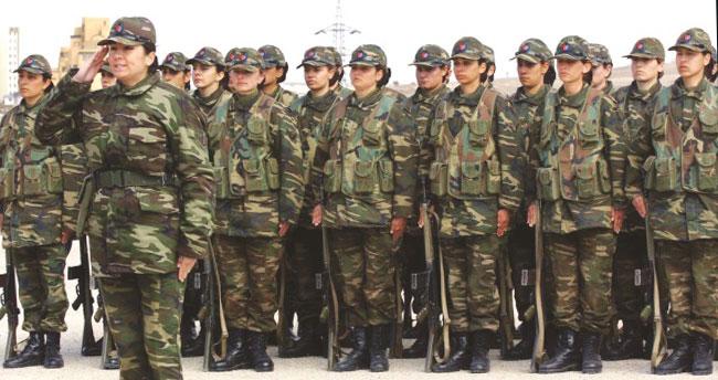 Kadınlar askere!