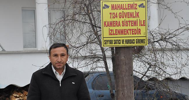 Konya'da hayvan hırsızlığına kameralı yöntem