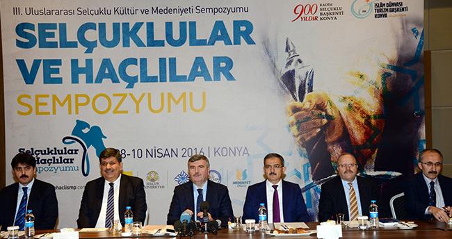 Konya'da Selçuklular-Haçlılar Sempozyumu düzenlenecek