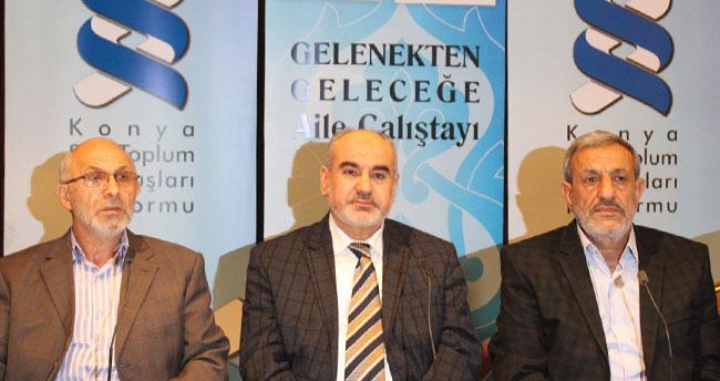 """Konya'da """"Gelenekten Geleceğe Aile Çalıştayı"""" sona erdi"""