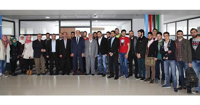 Uğur İbrahim Altay Suriyeli öğrencilerle buluştu