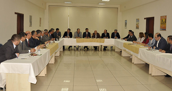 TMMOB Konya'da koordinasyon kurulu toplantısı yapıldı