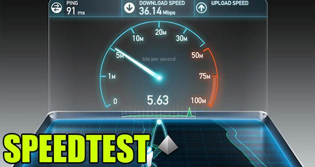 4,5G internet hızı nasıl ölçülür? Speedtest ile hız testi nasıl yapılır?