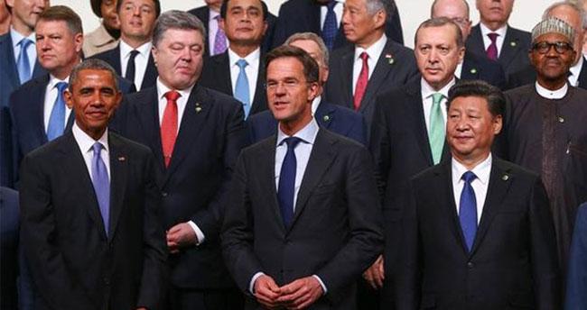 Cumhurbaşkanı Erdoğan Nükleer Güvenlik Zirvesi'nde