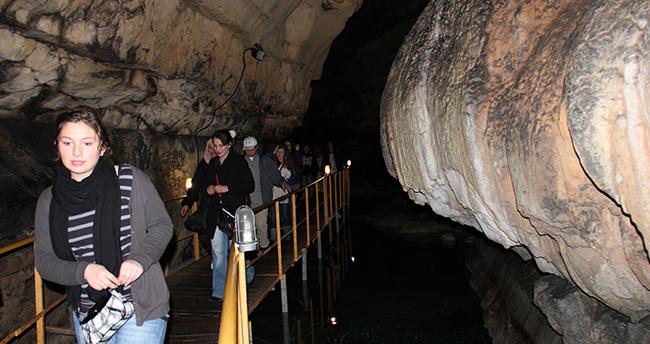 Tınaztepe Mağarası sezonu açtı
