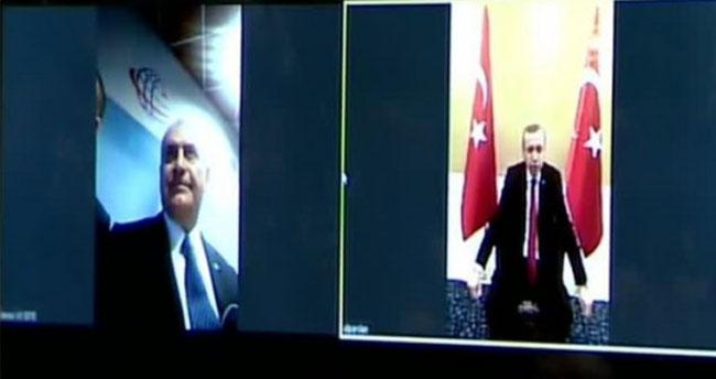Türkiye'de 4.5G dönemi başladı – 4.5G ile ilk görüşmeyi Erdoğan ve Yıldırım yaptı