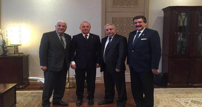 Başkan Kale Ankara'da Çeşitli Ziyaretlerde Bulundu