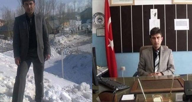 Öldürülen terörist okul müdürü çıktı!