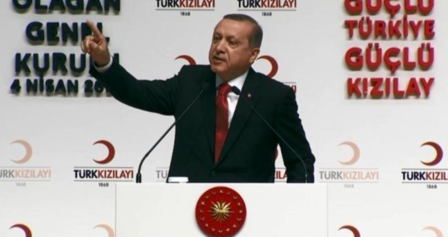 Erdoğan'dan kalp krizi iddialarına yanıt