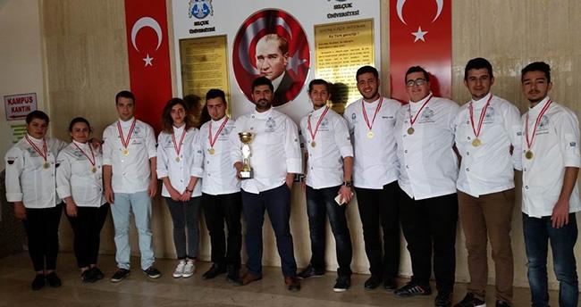 Selçuk Üniversitesi'ne 8 altın 2 gümüş madalya