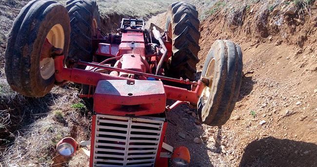Konya'da traktör devrildi: 1 kişi öldü