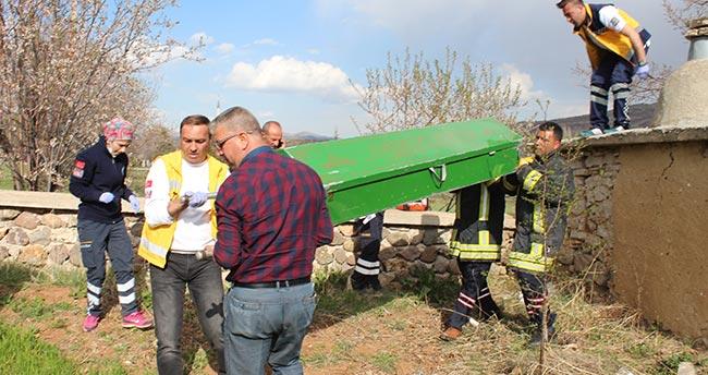 Konya'da elektrik akımına kapılan boyacı öldü