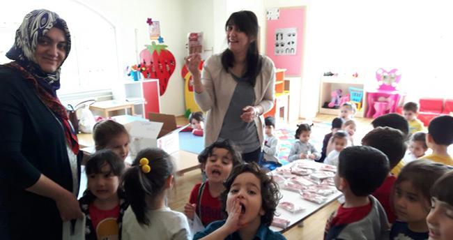 Öğretmen Fuat Altan Anaokulu Geleneklere Sahip Çıkıyor