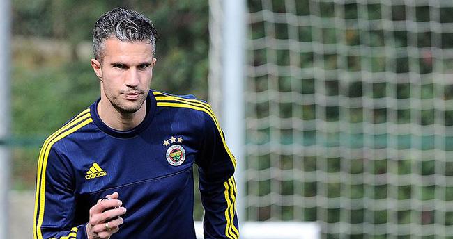Fenerbahçe'de Van Persie kadroda yok