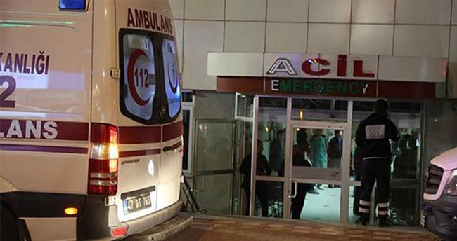 Polis lojmanlarına saldırı: 1 şehit, 1 ölü