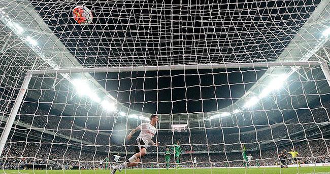 Vodafone Arena'daki tarihi maçta 3 puan Beşiktaş'ın!