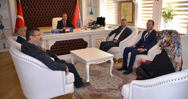 AK Parti Konya İl Teşkilatı'ndan Emniyet Müdürüne ziyaret