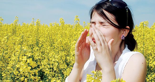 Bahar alerjisi olanlar toza dikkat