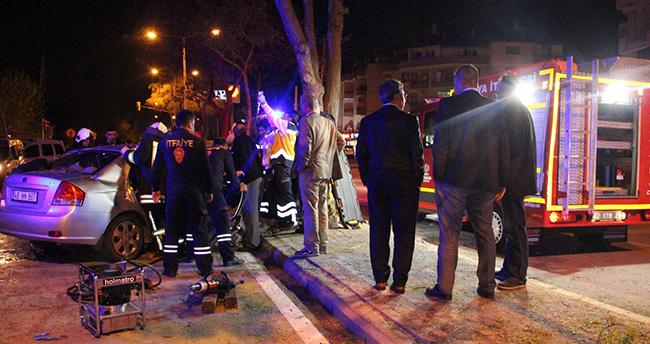 Konya'da tıp öğrencileri kaza yaptı:2 ölü 2 yaralı