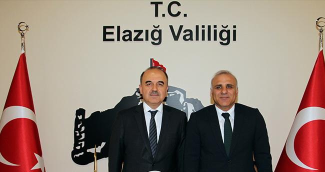 Konya Valisi Erol, Elazığ'da
