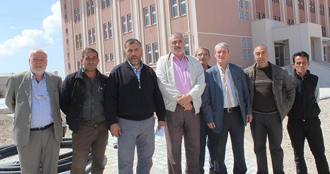 Konya'da esnaf alacaları için eylem yaptı