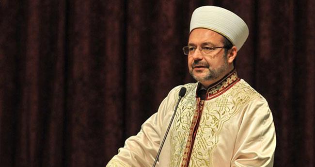 Mehmet Görmez: Şehitleri marşla uğurlamak doğru değil