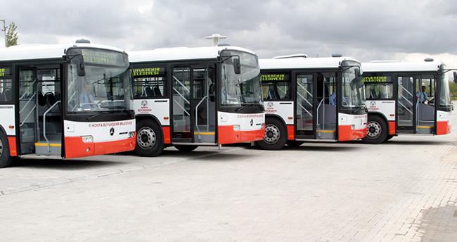 Konya Büyükşehir'den yeni otobüs hattı
