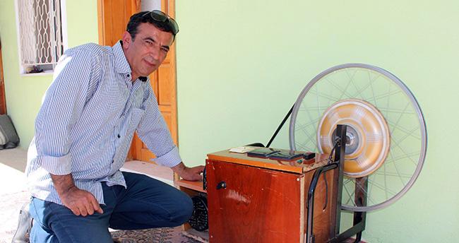 Konya'da kendi kendini şarj edebilen jeneratör yapıldı