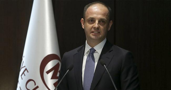 Merkez Bankası'nda Murat Çetinkaya görevi devraldı
