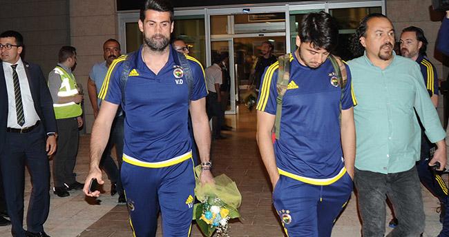 Fenerbahçe kafilesi Konya'ya geldi