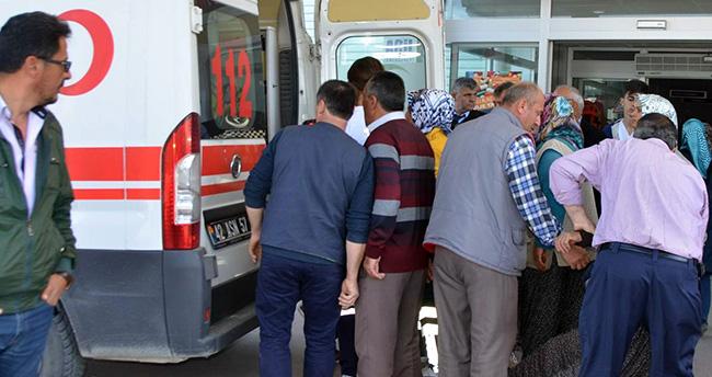 Konya'da kanala atlayan kadını komşuları kurtardı
