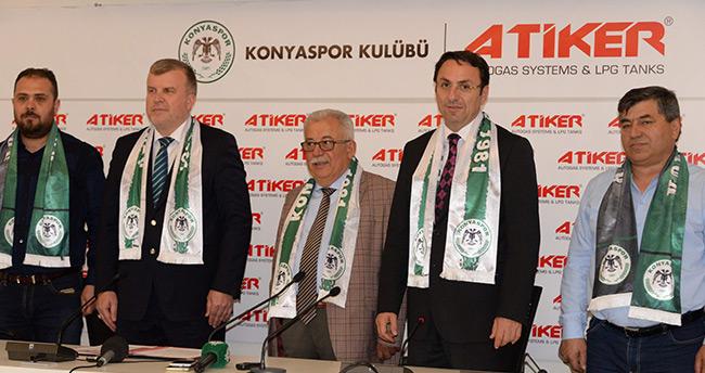 Konyaspor'un Yeni Sponsoru Atiker
