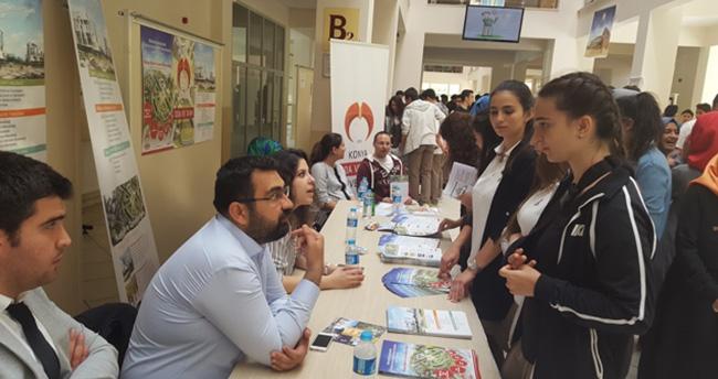 Konya'da meslekler tanıtıldı