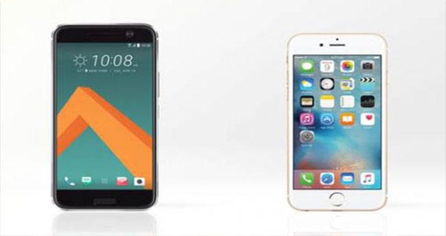 iPhone 6s ve HTC 10 karşılaştırma