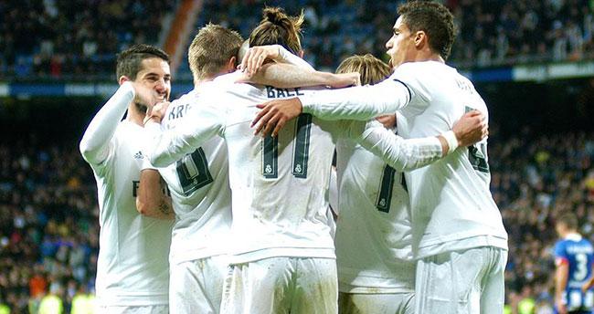 Real Madrid zirveye yerleşti
