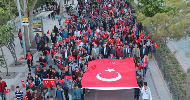 Konya 57. Alay Çanakkale Vefa Yürüyüşü'nde