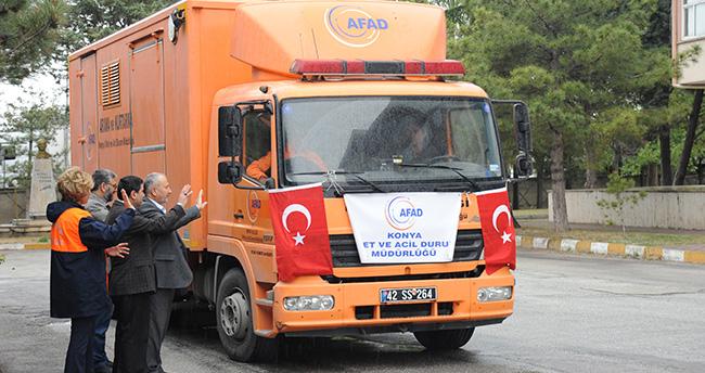 Konya'dan Bayırbucak Türkmenlerine yardım