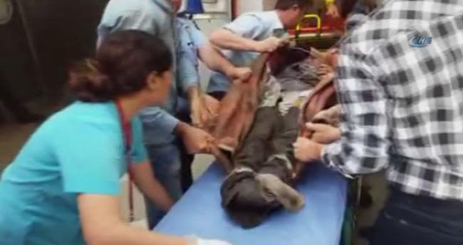 Soma'da maden işçileri gazdan etkilendi