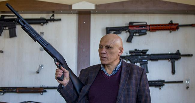 Rus polisine Konya'dan travmatik silah