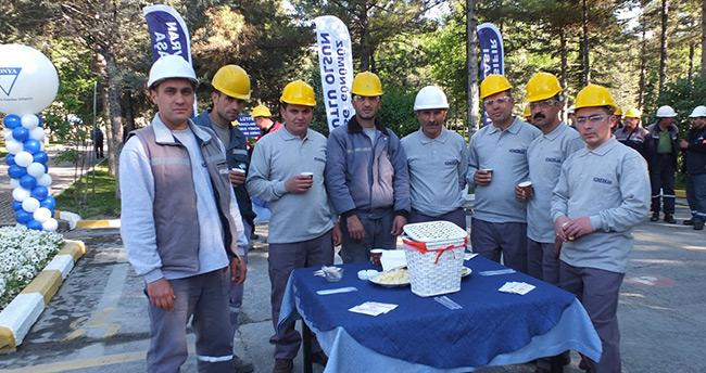 Konya Çimento'da İş Sağlığı Günü kutlaması