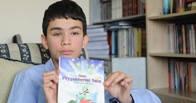 Konya'da görme engelli Mehmet Akif Umre ödülü kazandı